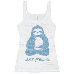 Meditating Sloth Tank