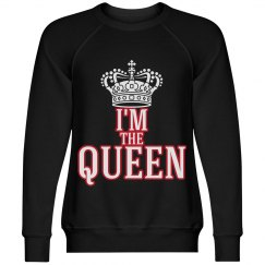 I AM QUEEN/BLACK,RED,WHITE