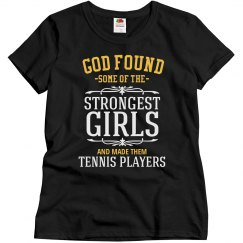 Strong tennis players