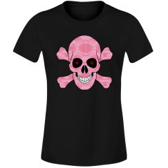 Pink Camouflage Skull