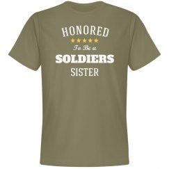 Honored to be soldier's sister