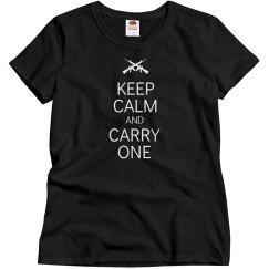 Keep calm carry one