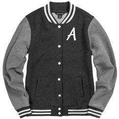 Customizable Monogram Fleece Jacket