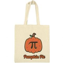Pumpkin Pie Tote Bags