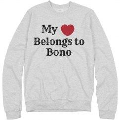 My heart belongs to Bono