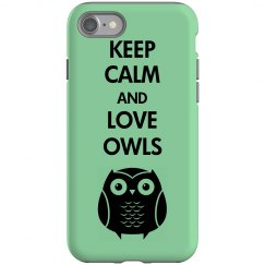 Keep Calm Owl Case