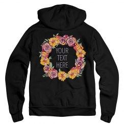 Design a Floral Hoodie