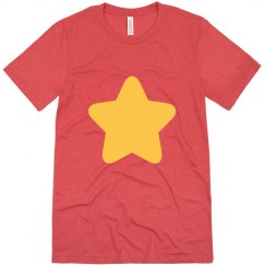 Gold Star Red Tee Universe Costume