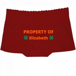 Property of Boyfriend St Patricks Undies