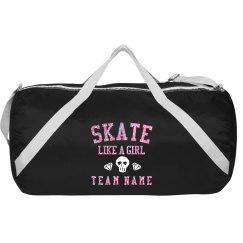Custom Derby Glitter Gym Bag