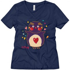 Love Owl on Navy