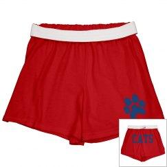Soffee shorts w/ paw