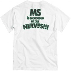MS on nerves