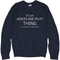 It's an Aeroplane pilot