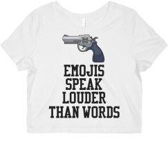 Emoji Guns Talk