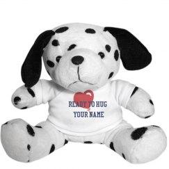 Huggable Plush Dalmatian