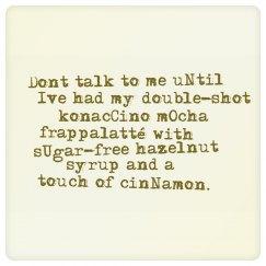 Don't Talk Need Coffee