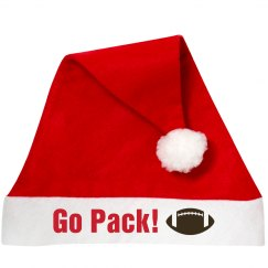 Go Team Santa Hat
