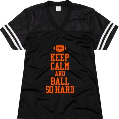 Keep Calm Football Hard