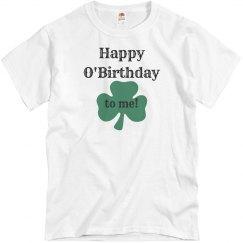 St Patricks Day Birthday