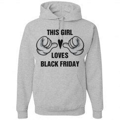 Girl Loves Black Friday