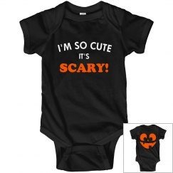So Cute It's Scary Halloween Baby