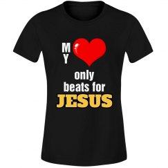 Heart beats for Jesus