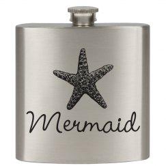 Mermaid Beach Flask Her Captain