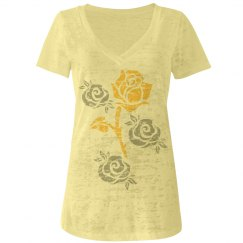Yellow & Silver Roses