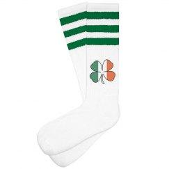 Irish Shamrock Socks