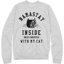 Namastay With My Cat Puns