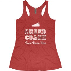 Custom Cheer Coach