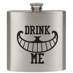 Drink Me AIW Cheshire Flask