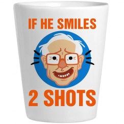 Bernie Sanders Drinking