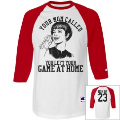 Funny Custom Baseball Softball Mom Sports Mom Jerseys
