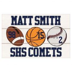High School Sports Plaque