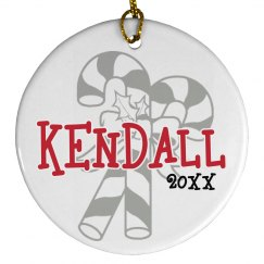 Kendall Candy Cane