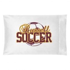 RHS Soccer Pillowcase