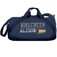 Rhinestone Cheer Bag