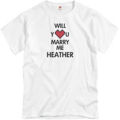 Will you marry me Heather