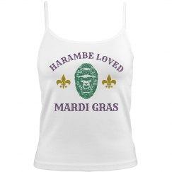 Harambe Loved Mardi Gras Funny