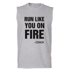 Coach Says Run Like You On Fire