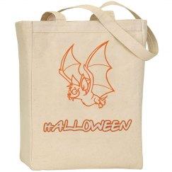 Funny Halloween Bat Bag