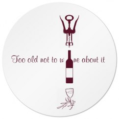 Age old wine coaster