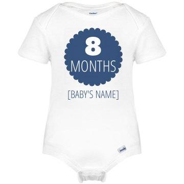 8 Month Marker