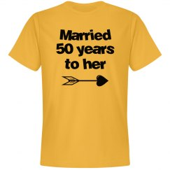 Married 50 years to her