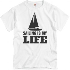Sailing is my life!