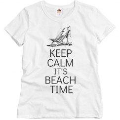 Keep calm It's beach time