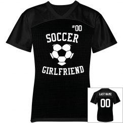 Cute Soccer Girlfriend Jersey