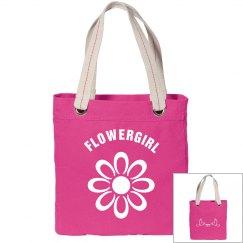 Flowergirl Tote Bag